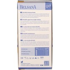 BELSANA Sommer Edt. Stützkniestrumpf Gr. 39-41 Farbe beige