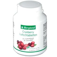 Bergland Cranberry Lutschtabletten