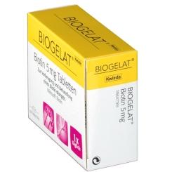 BIOGELAT® Biotin 5 mg Tabletten