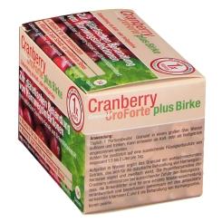 BIOGELAT® Cranberry UroForte plus Birke Granulat