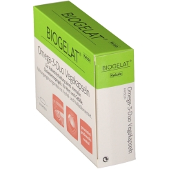 BIOGELAT® Omega-3-Duo Vegakapseln