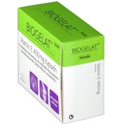 BIOGELAT® Vitamin E 400 mg Kapseln