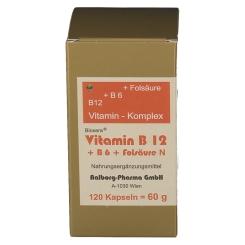 Bioxera® Vitamin B12 + B6 + Folsäure N