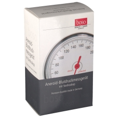 boso-egotest Blutdruckmessgerät schwarz