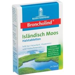 Broncholind Isländisch Moos Halstabletten