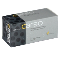 CARBO Medicinalis Sanova Tabletten