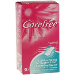 CAREFREE® Slipeinlagen luftdurchlässig