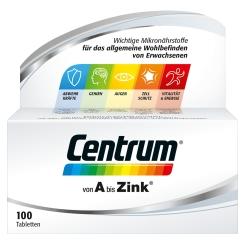 Centrum A-Zink Capletten