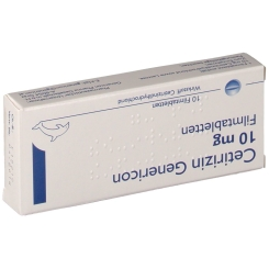 Cetirizin Genericon 10 mg