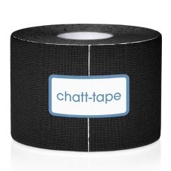 chatt-tape 5 cm x 5 m schwarz