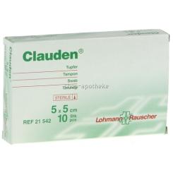 Clauden Tupfer 5 x 5 cm 21542