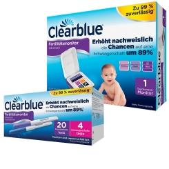Clearblue ADVANCED Fertilitätsmonitor + 20 Teststäbchen