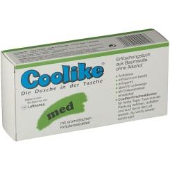 Coolike Feucht-Tücher med. Heilpflanzen Öl