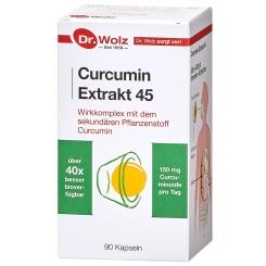 Curcumin Extrakt 45 Kapseln