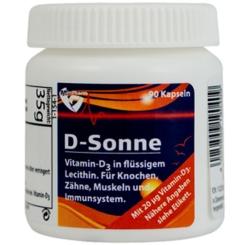 D-Sonne 20 µg Vitamin D3 Kapseln
