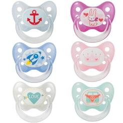 Dentistar BS Silikon mit Ring für Babys ab dem 1. Zahn (Farbe nicht wählbar)