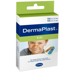 DermaPlast® Kids Pflasterstrips 2 Größen