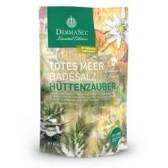 DERMASEL® Totes Meer Badesalz Hüttenzauber Limited Edition