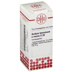 DHU Acidum Benzoicum e Resina D30