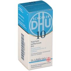 DHU Biochemie 10 Natrium sulfuricum D12