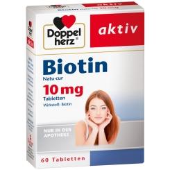 Doppelherz® aktiv Biotin Natu-cur 10mg Tabletten