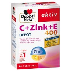 Doppelherz® aktiv C + Zink + E 400 DEPOT Tabletten