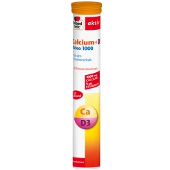 Doppelherz® aktiv Calcium + D3 Osteo 1000 Brausetabletten
