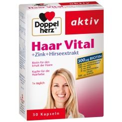 Doppelherz® aktiv Haar Vital + Zink + Hirseextrakt