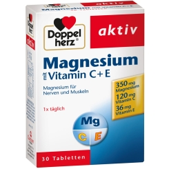 Doppelherz® aktiv Magnesium mit Vitamin C + E