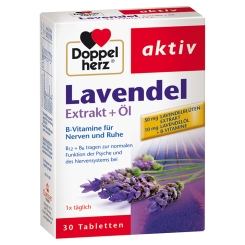 Doppelherz® Lavendel Extrakt + Öl
