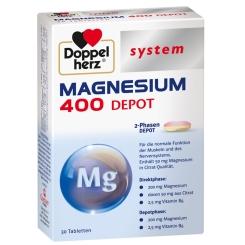 Doppelherz® system Magnesium 400 Depot