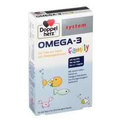 Doppelherz® system OMEGA-3 family
