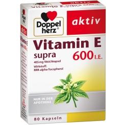 Doppelherz Vitamin E supra 600 I.E. Kapseln