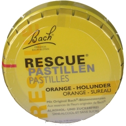 Doskar Bachblüten RESCUE® Pastillen Orange-Holunder