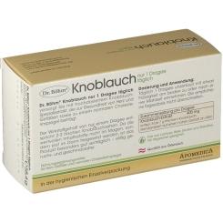 Dr. Böhm® Knoblauch nur 1 Dragee täglich