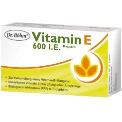 Dr. Böhm® Vitamin E 600 I.E. Kapseln