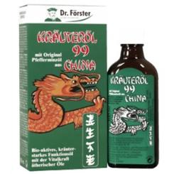 Dr. Förster Kräuteröl 99 China