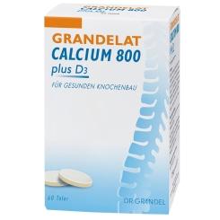 Dr. Grandel Grandelat Calcium 800 plus D3