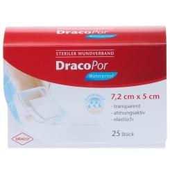 DracoPor Waterproof Wundverband steril 5x7,2cm