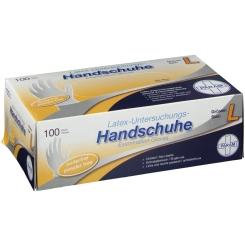 Einmal Handschuhe Latex puderfrei L