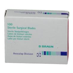 Einmal-Skalpellklingen Aesculap steril Fig. 11 BB510