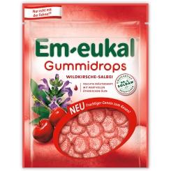 Em-eukal® Gummidrops Wildkirsche Salbei zuckerhaltig