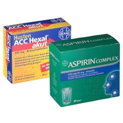 Erkältungsset Aspirin® + ACC Hexal® akut
