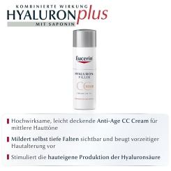 Eucerin® HYALURON-FILLER CC-Cream mittel