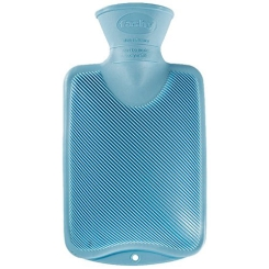 fashy Kinderwärmflasche Halblamelle hellblau