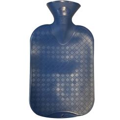fashy Wärmflasche glatt saphir