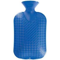fashy Wärmflasche Glatte Ausführung Königsblau