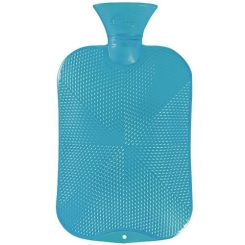 fashy Wärmflasche Kristallstar-Dekor Türkis