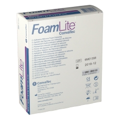 Foam Lite ConvaTec Adhesive 8 x 8 cm