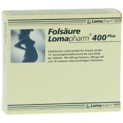 Folsäure Lomapharm 400 Plus Filmtabletten